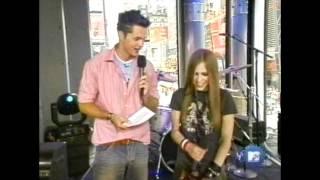 Avril Lavigne - Interview MTV TRL 2002 [HD]