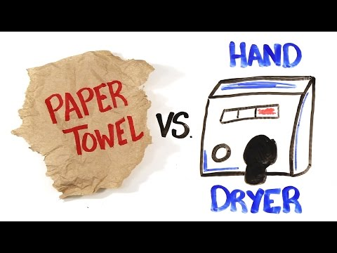 Which Is Better Paper Towels Or Hand Dryers