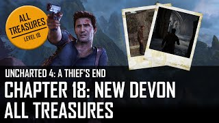 Video Uncharted 4 - Chapter 18: New Devon - All treasures MP3, 3GP, MP4, WEBM, AVI, FLV Juli 2018