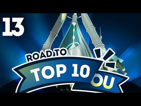 Pokemon Showdown Road to Top Ten: Pokemon Sun & Moon OU w/ PokeaimMD #13 (видео)