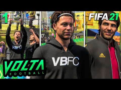 FIFA 21 Volta Story Mode Episode #1 - THE DEBUT! (Volta Full Movie)