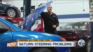 Saturn steering problems