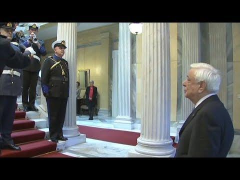 Κάλαντα Πρωτοχρονιάς στον Πρόεδρο της Δημοκρατίας