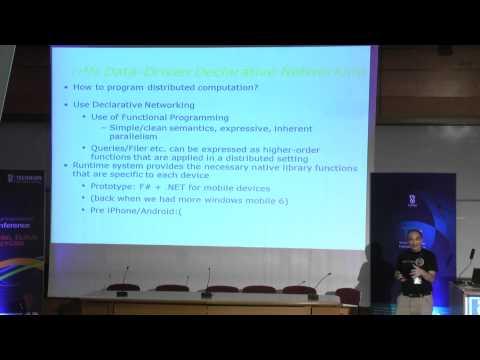 Prof. Jon Crowcroft - Opportunity ist die Mutter der Erfindung - Technion Lecture