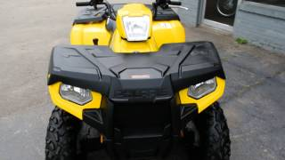 2. 2012 Polaris Sportsman 500HO 4X4 Yellow ATV