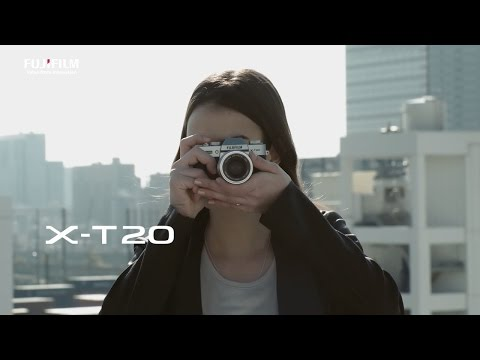 What does the Fujifilm X-T20 offer filmmakers?