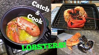 Video LOBSTER ( Catch and Cook ) Lobster On The Lighthouse! MP3, 3GP, MP4, WEBM, AVI, FLV Agustus 2019