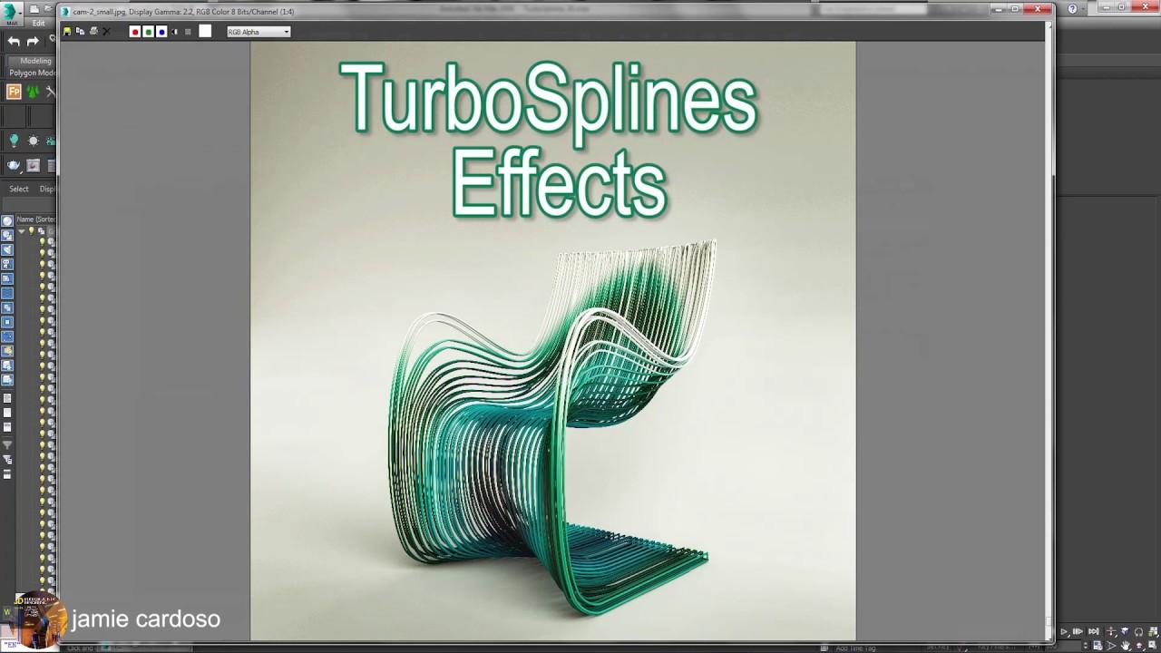video/using turbosplines plugin 3ds max tutorial