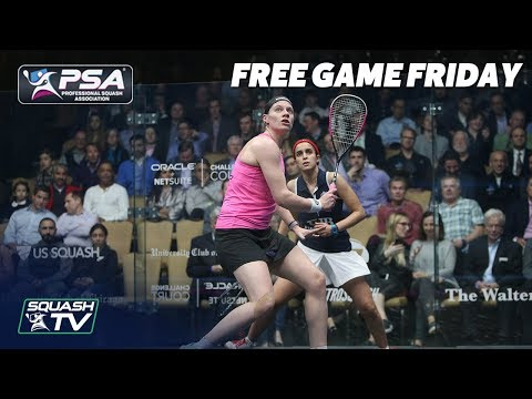 Squash: Free Game Friday - El Tayeb v Perry -  Windy City Open 2018