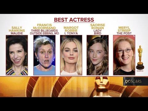 Oscar 2018 nominations announced