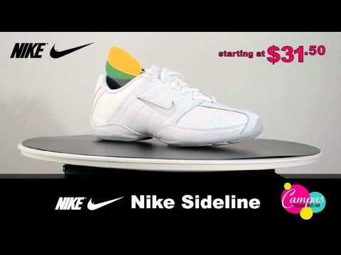 campusteamwearvideos - Campus Teamwear is proud to offer the Nike Sideline Cheer, one of the most popular cheerleading shoes available. Low profile, lightweight and flexible, this ...