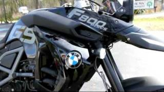 8. 2012 BMW F800GS Triple Black