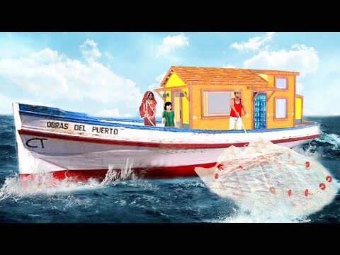 मिनी बोट हाउस Hindi Kahaniya Mini Boat House Hindi Kahani - Hindi Comedy Stories Funny Comedy Video