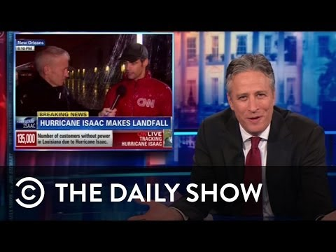 Comedy Central UK - Hurricane Isaac Media Coverage - The Daily Show