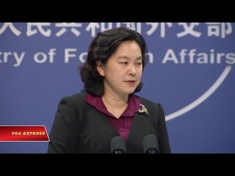 Trung Quốc lên tiếng vụ tàu sân bay Mỹ sắp thăm Đà Nẵng видео