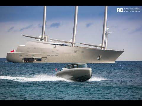 Российский миллиардер купил самую большую яхту в мире
