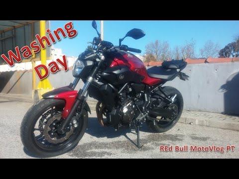 Yamaha MT 07 - Washing Day - Dia de Lavagem