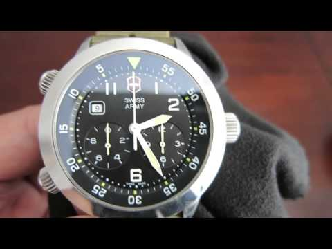 How to reset the Chronograph on a Victorinox Swiss Army Watch