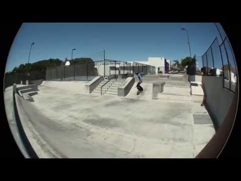 Step Up and some clip at El Segundo Skatepark