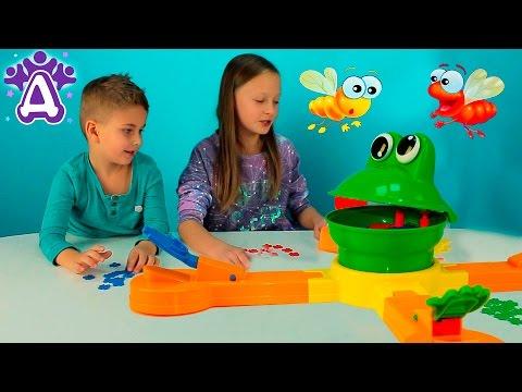 Играем в игру - МИСТЕР РОТ Мистер Маус. Mr. Mouth Game Video. Игры для детей. Видео для детей. (видео)