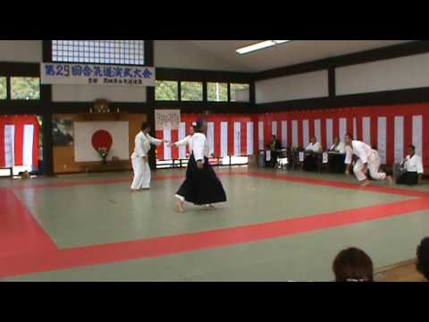 Aikido Demonstration Japan 2009