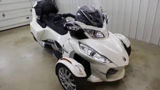 9. 2013 Can Am Spyder RT Limited Walk Around
