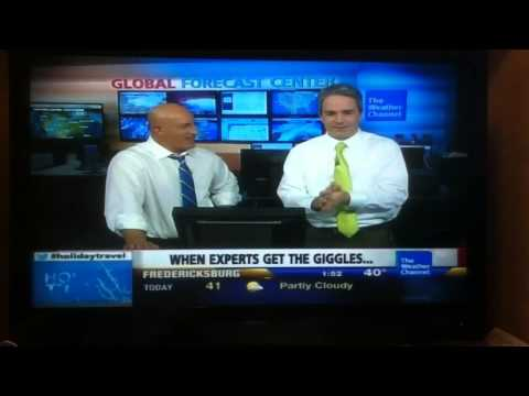 Weather Channel Blooper