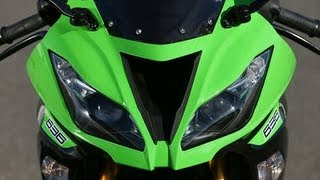 9. 2013 Kawasaki ZX10R Review/Walk Around