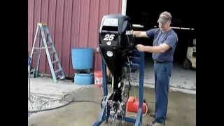 2007 Mercury 25hp Outboard Motor - Boat Engine Sales on eBay