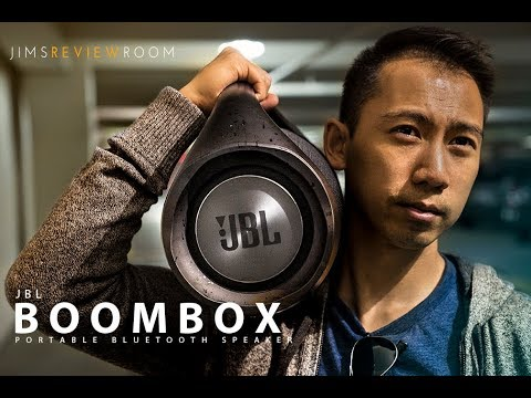 JBL Boombox REVIEWED - SO XTREME !!