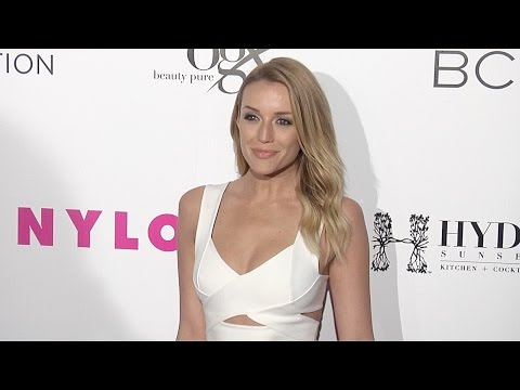 Sarah Dumont NYLON Young Hollywood Party 2015 Red Carpet Arrivals