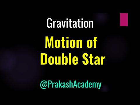 Gravitation 7 Bewegung Doppelstern für IIT von Guru Sir @ Ranchi