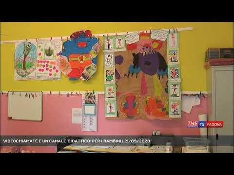 VIDEOCHIAMATE E UN CANALE 'DIDATTICO' PER I BAMBINI   21/05/2020