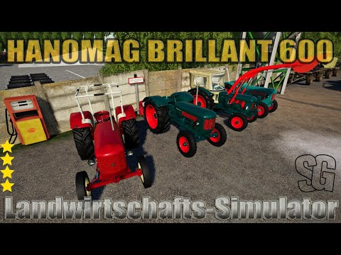 Hanomag Brillant 600 made by ls_oldtimer v1.0