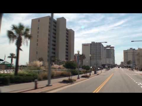 Virginia Beach - VaBeach.com presents this driving tour of the east side of Atlantic Avenue. Please visit www.vabeach.com and see why you should choose Virginia Beach for you...