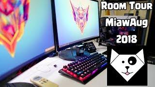 Video Room Tour 2018 - MiawAug Gaming Room MP3, 3GP, MP4, WEBM, AVI, FLV Agustus 2018