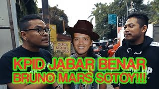 Video BRUNO MARS SOTOY, KPID JABAR BENAR!!! MP3, 3GP, MP4, WEBM, AVI, FLV April 2019