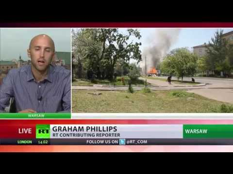 RT - UK journalist Graham Phillips has been deported from Ukraine and banned from entering the country for three years on the grounds that he's been working for R...