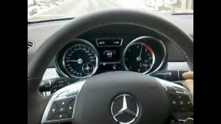 Mercedes ML250 CDI BlueTEC Acceleration