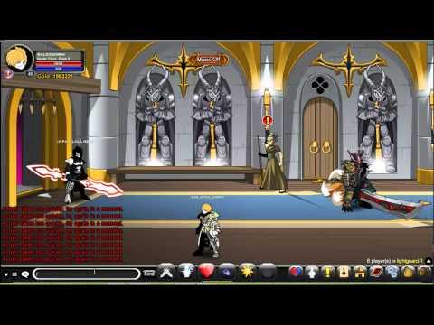 AQW-Como pegar paladin e DoomKnight Class