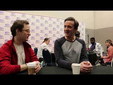 Griffin Newman (Arthur) Peter Serafinowicz (The Tick) talk about Amazon's The Tick at Wondercon '19