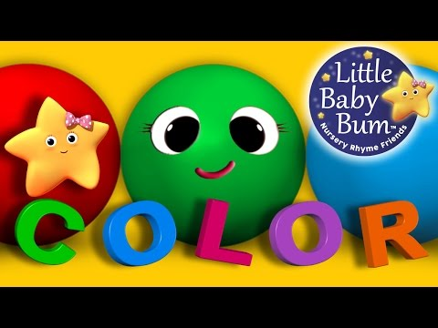 Learn Colors & Objects Song | Children's Nursery Rhymes | by LittleBabyBum! | ABCs and 123s