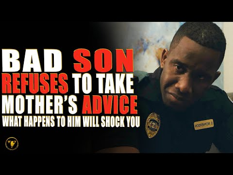Bad Son Refuses To Take Mother's Advice, What Happens To Him Will Shock You.