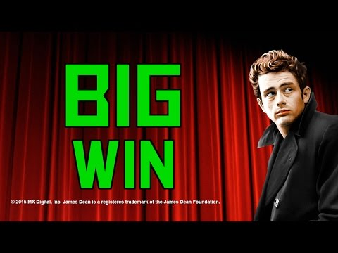 ★ James Dean ★ Last Spin Save - €1.25 Bet - BIG WIN !!