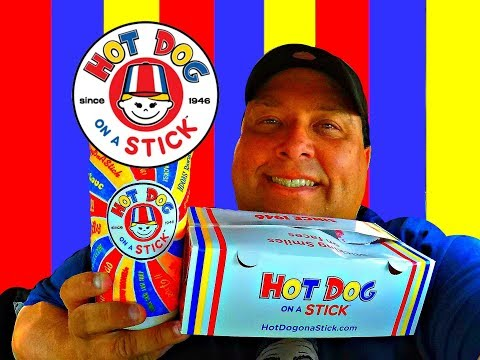 Hot Dog on a Stick™ The Box & Hand Stomped Lemonade REVIEW!