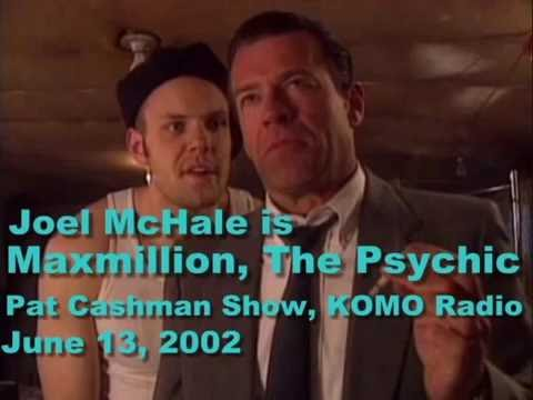 Joel McHale is Maxmillion, The Psychic