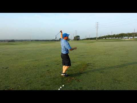 Golf Lessons – Practice Routines – 1 Footed Drill