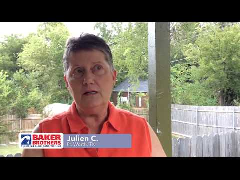 Baker Brothers Plumbing Review – Julien C. – Ft. Worth, TX