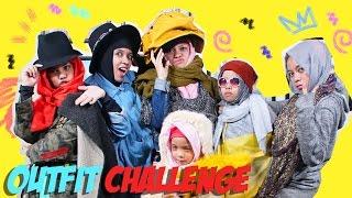 Video CHALLENGE PAKE BAJU TERCEPAT  - FASHION CHALLENGE | Gen Halilintar Girls MP3, 3GP, MP4, WEBM, AVI, FLV Juni 2019