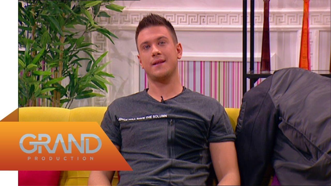 Miloš Vujanović, Sandra Rešić, Milan Mitrović – Grand Magazin – (TV Grand – decembar)